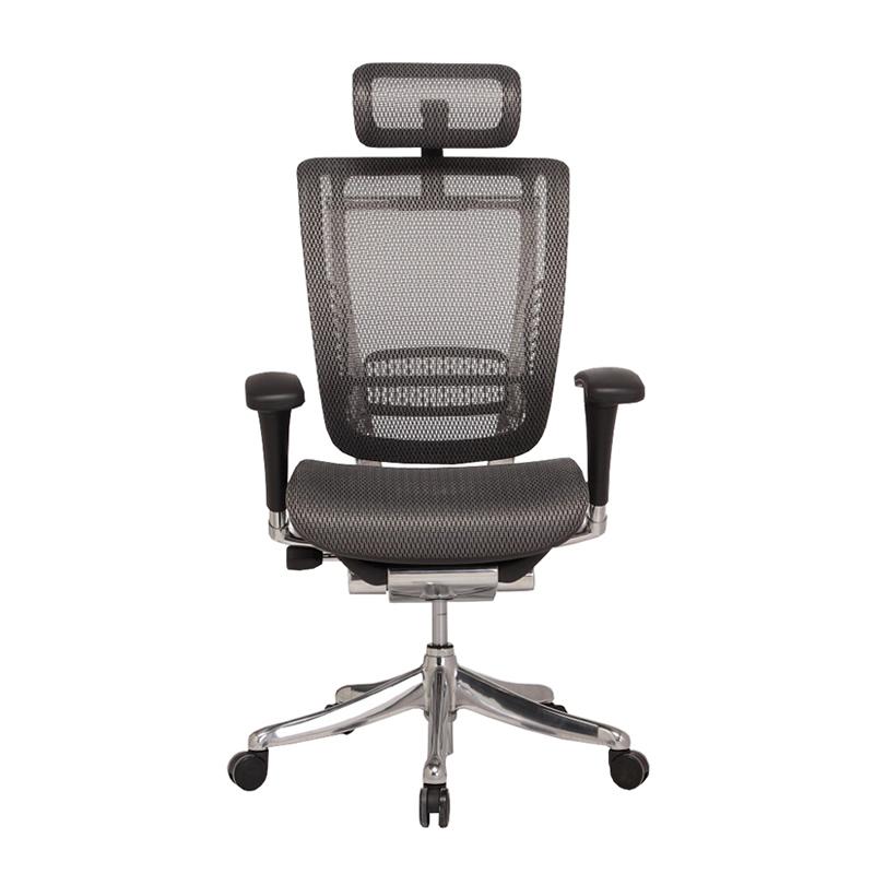 Spring classic design high end ergonomic executive chair with aluminum mechanism HSPM01