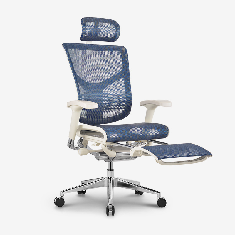 Star high end ergonomic executive chair with footrest RSTM01