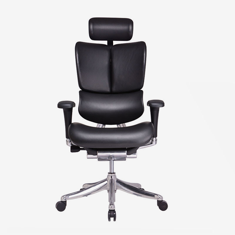 Fly unique design  Luxury leather ergonomic executive chair with dynamic back HFYL01