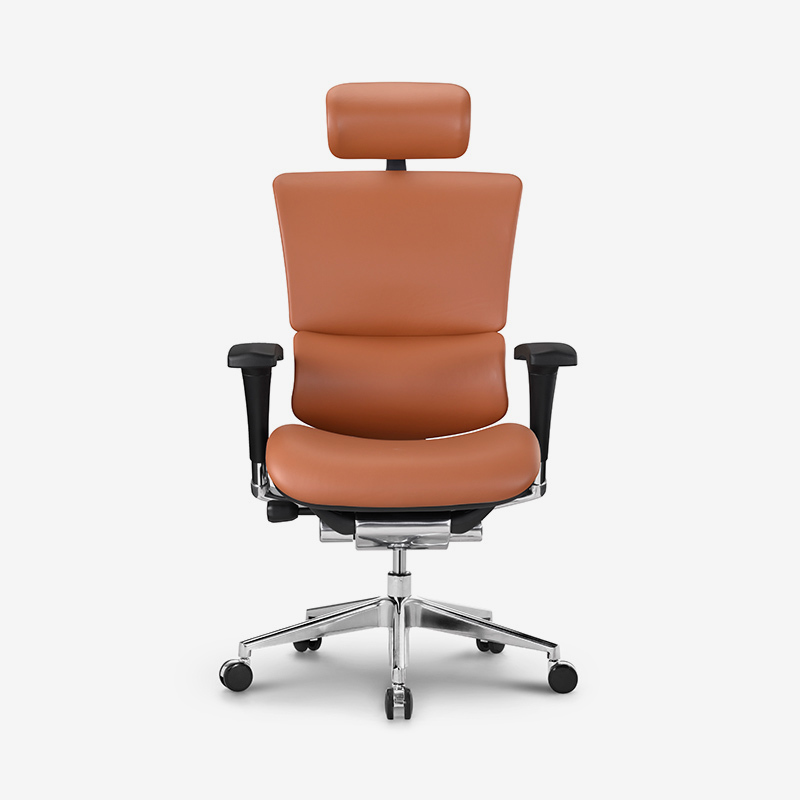 Sail top selling luxury leather ergonomic chair with dynamic lumbar supporting HSAL01