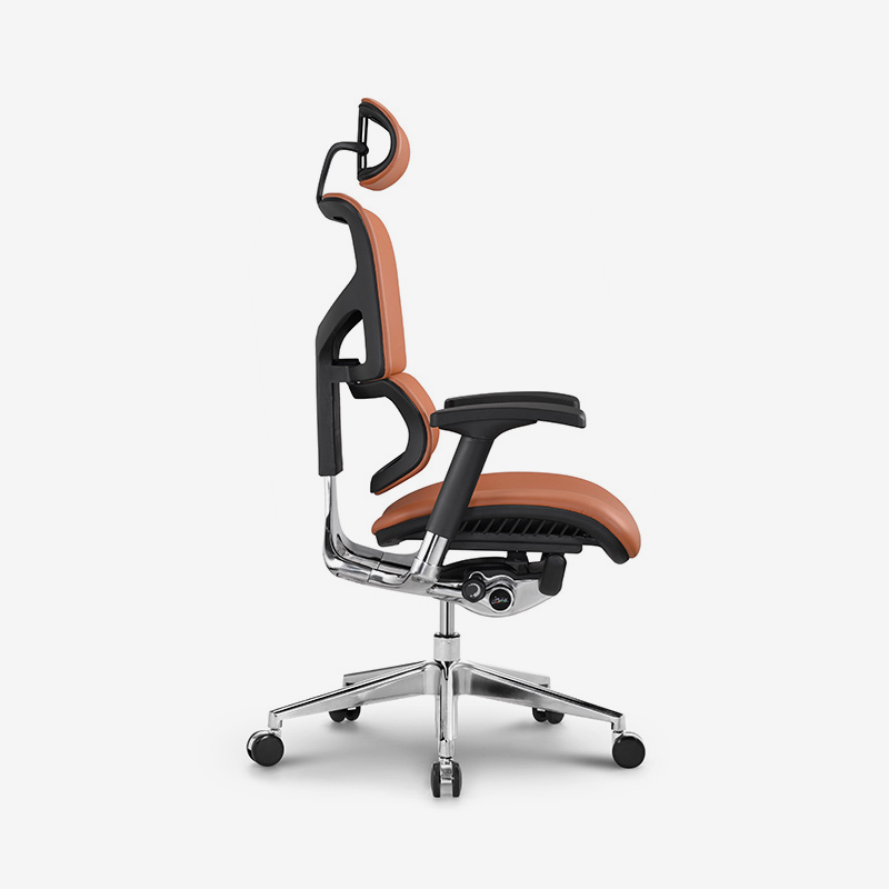 product-Sail top selling luxury leather ergonomic chair with dynamic lumbar supporting HSAL01-Hookay-2