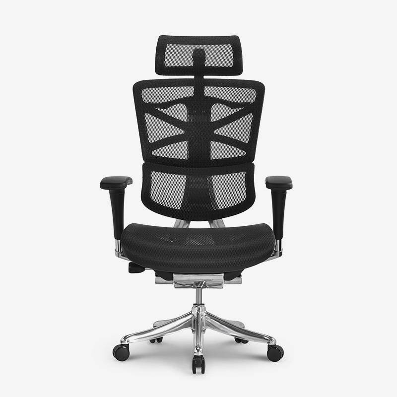 Sharp new design ergonomic office chair with aluminum mechanism HSRM01