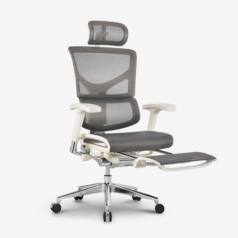 Sail top selling luxury  ergonomic chair with footrest RSAM01