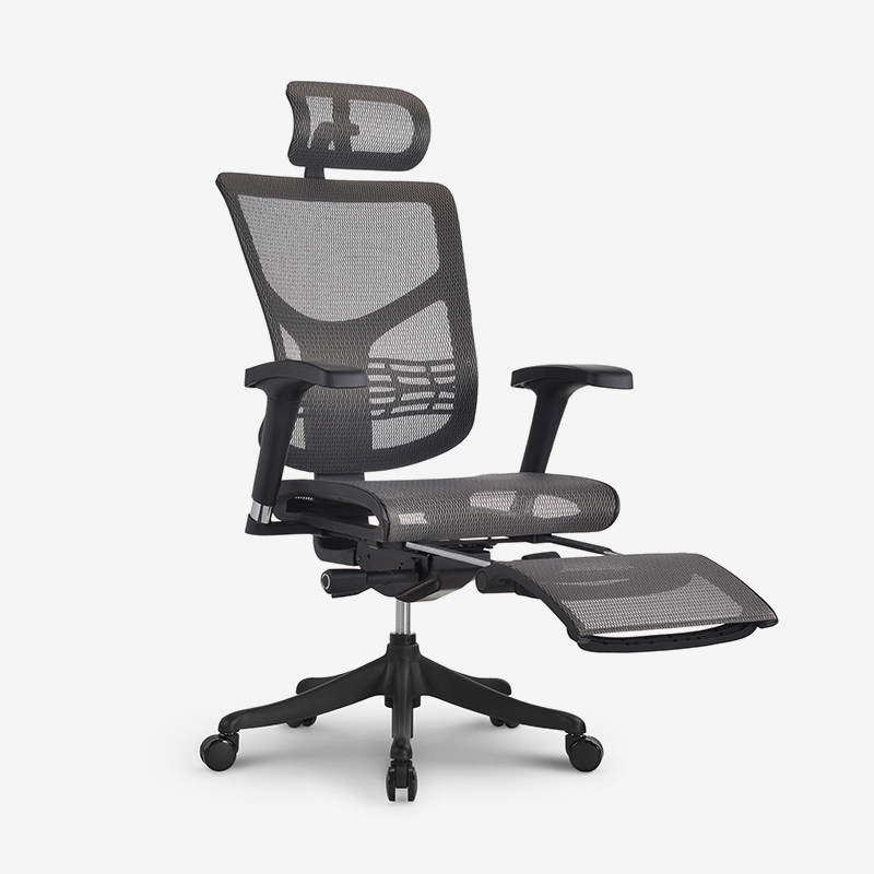Star high end ergonomic  chair with footrest RSTSM01